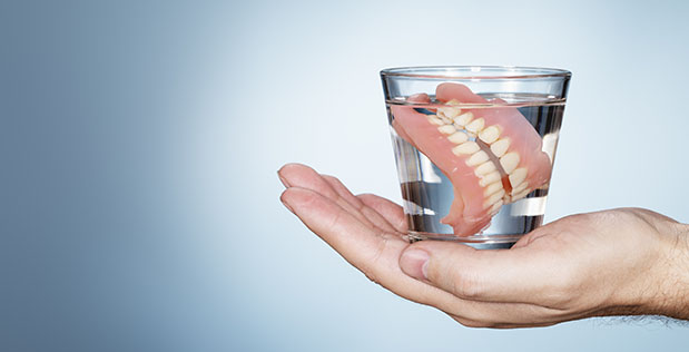 Cleaning And Reparing Dentures